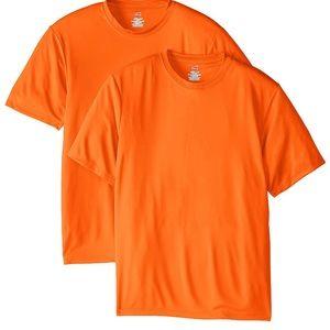 ⭐️3/$15⭐️ NEW 2-pack Hanes cool dri Tshirt Small